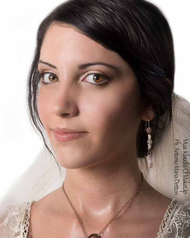 Trucco sposa Cagliari, nude makeup