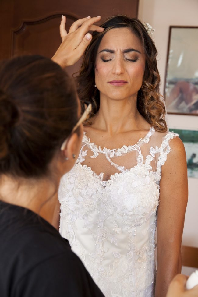 Trucco sposa santa giusta, makeup naturale ma intenso