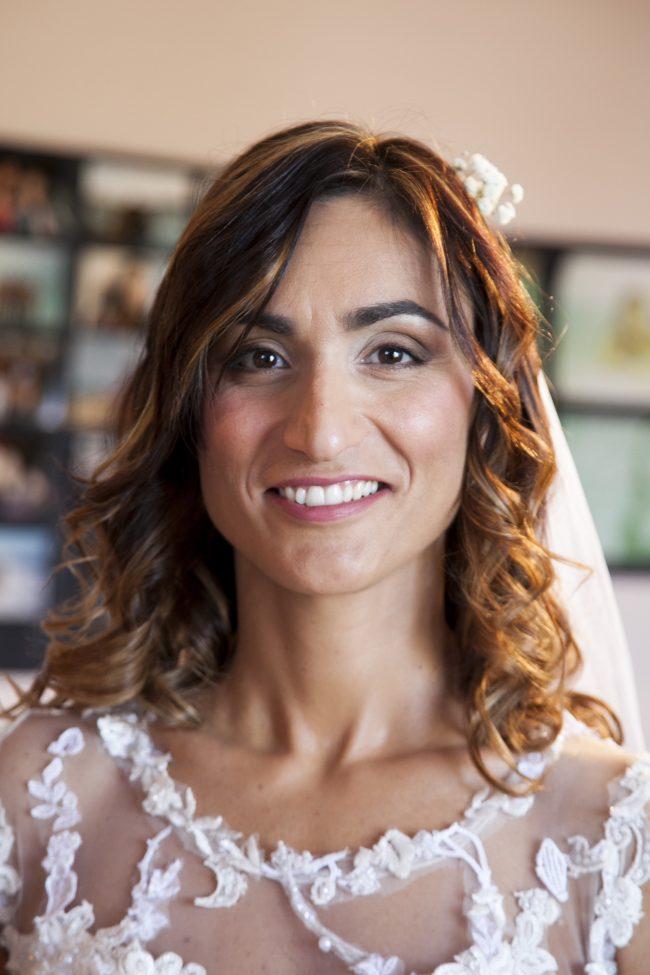 Makeup sposa santa giusta, naturale ma intenso