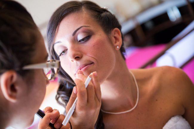 Trucco sposa monastir, Makeup con prodotti naturali