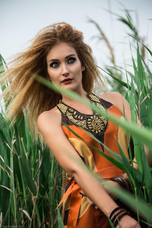 Cagliari Makeup per Shooting fotografico ispirato all'Africa