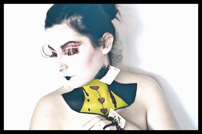 Makeup ispirato alla Regina di Cuori, Sansperate